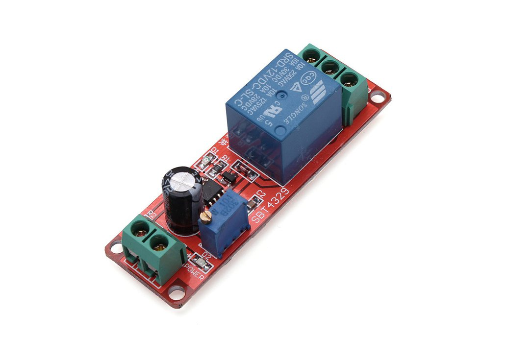 Delay Timer Switch Adjustable 1