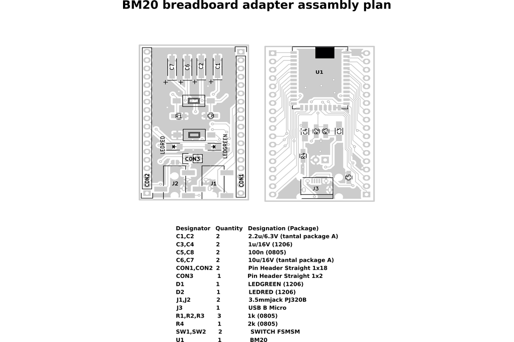 BM20 breadboard adapter 10