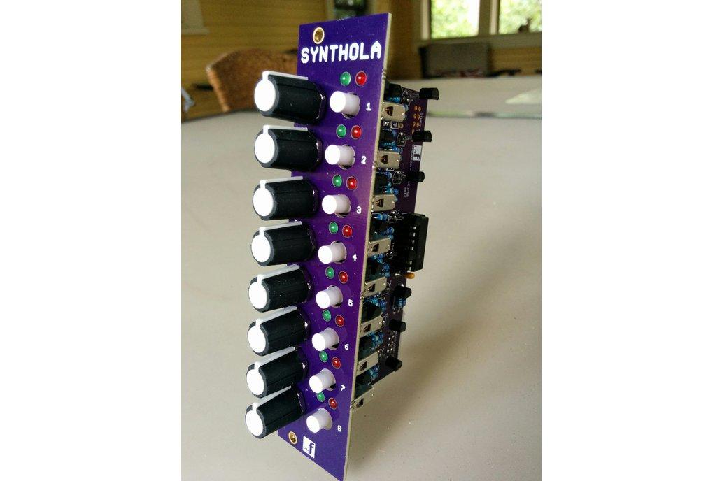 8 Step Expansion for Sequencer (Eurorack PCB Set) 1