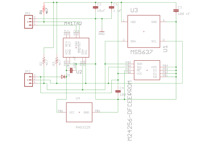 M41T62 Real Time Clock Add-On for Teensy 3.X