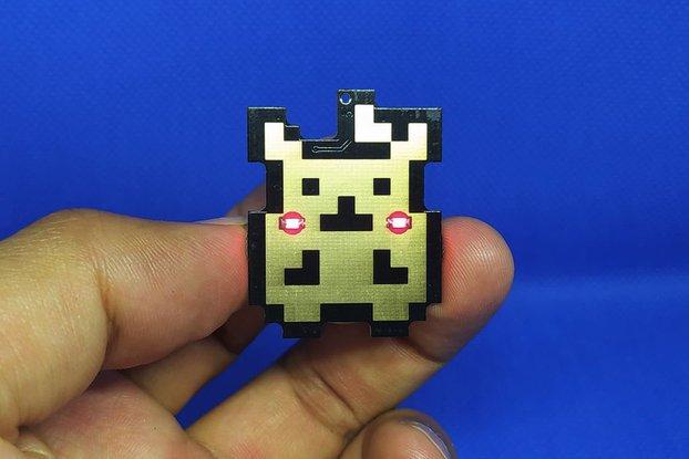 Pika pin badge SE