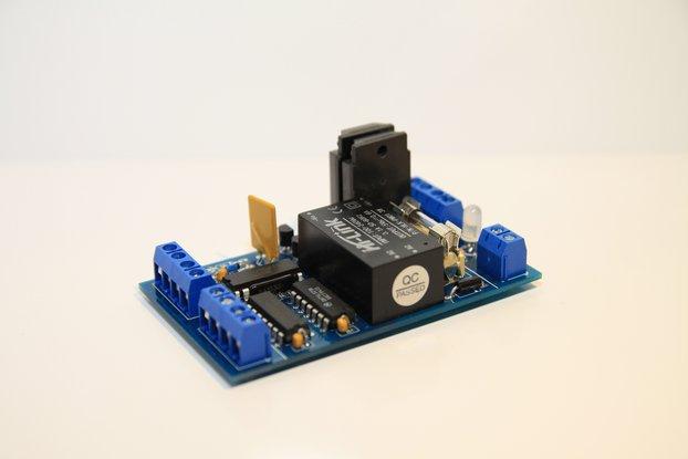 Liquid level controller - pump controller PCB