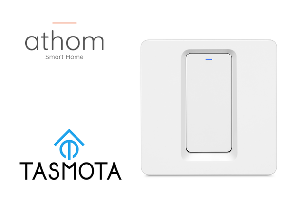 pre flashed Tasmota WiFi EU Switch 1 gang