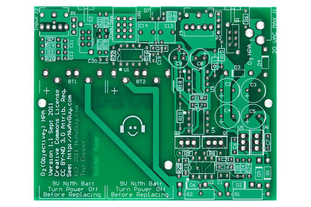 Objective2 (O2) Headphone Amp PCB 1