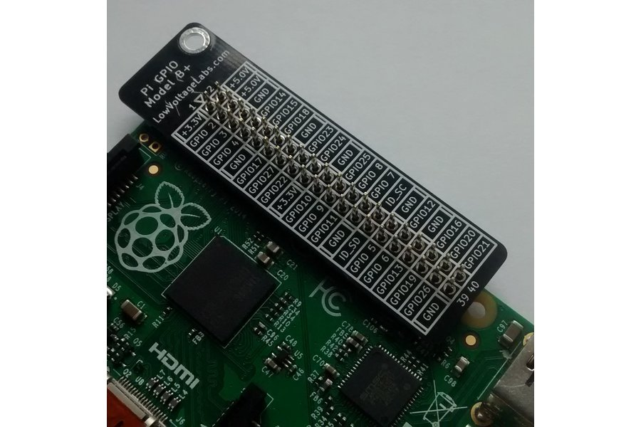 Pi GPIO Plus Reference Board
