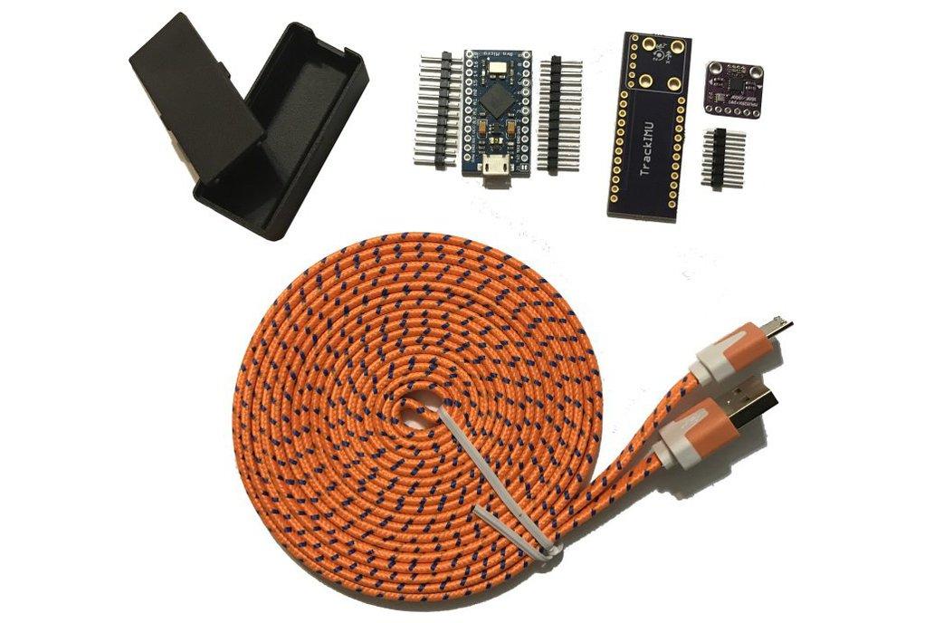 TrackIMU (DIY Kit): IMU-Based Wearable Head Track 1
