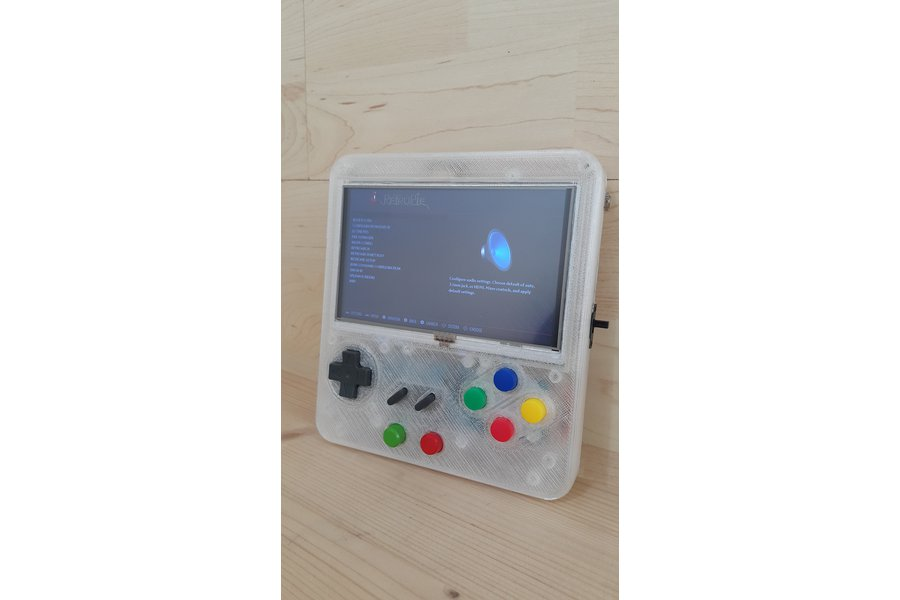 Custom Retropie Gameboy Style System
