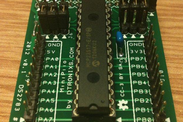 Raspberry PIIO - DIO16 - 16ch SPI Port Expander