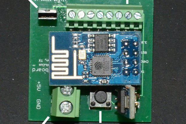 ESP8266 Breadboard adaptor with reset and flash