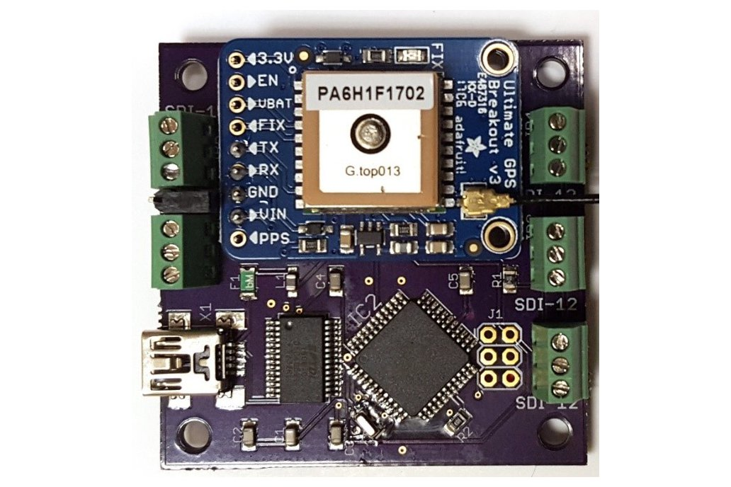Sdi usb adapter with gps from liudr arduino and physics