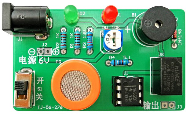 DIY Kit MQ-3 Sensor Alcohol Detector Tester (13602