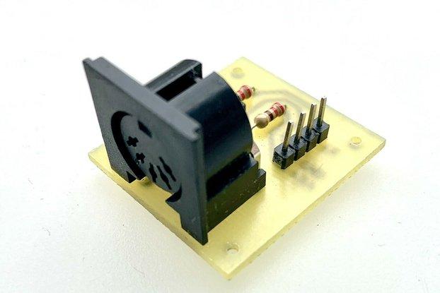 MIDI Serial Interface (Arduino TX MIDI OUT)