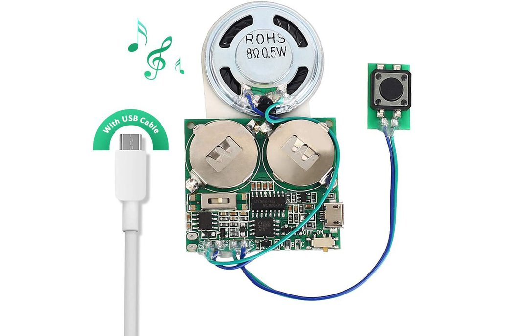 8M Push Button Recordable Sound Module_GY17843 1