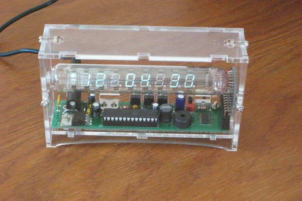 Ice Tube (VFD) alarm clock