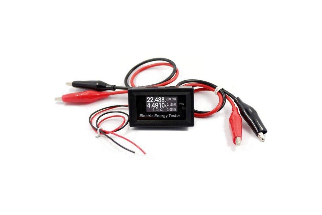 100V 15A Digital DC Voltmeterr Current Voltage 1