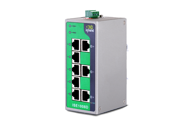 8-Port Unmanaged Industrial Ethernet Switch