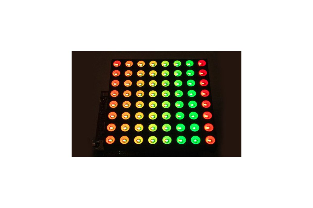 8x8 RGB Matrix Booster Pack PCB 1