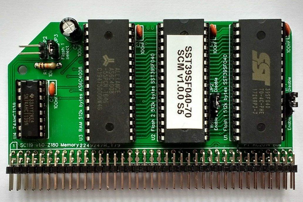 SC119 Z180 Memory Module Kit for RC2014 1