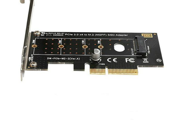 PCI E riser card Adapter