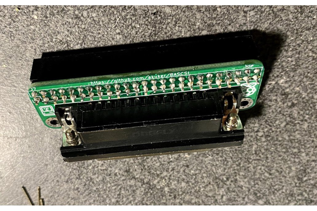 SCSI 50-pin to DB-25 Adapter Board 1