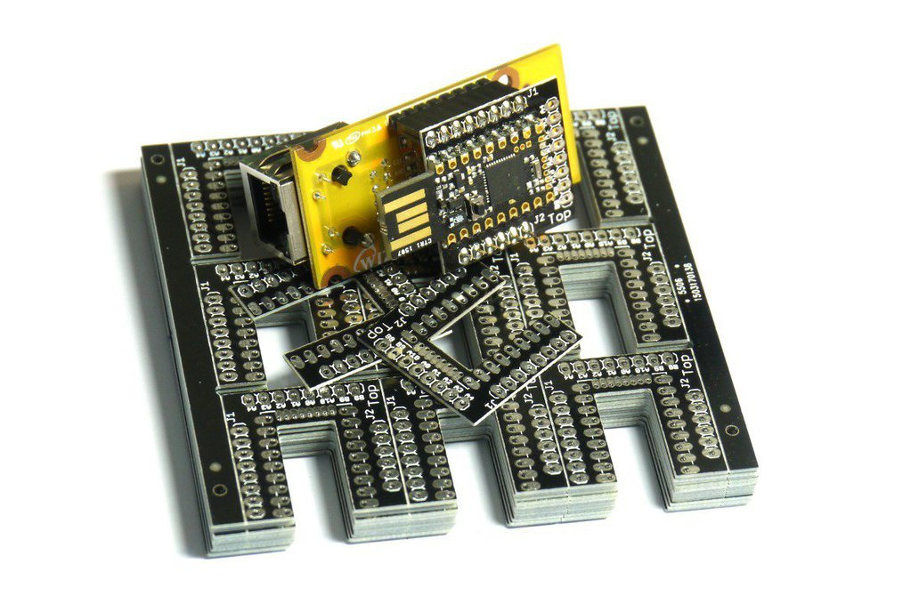 Espruino Pico WIZnet W550io Ethernet Shim 1