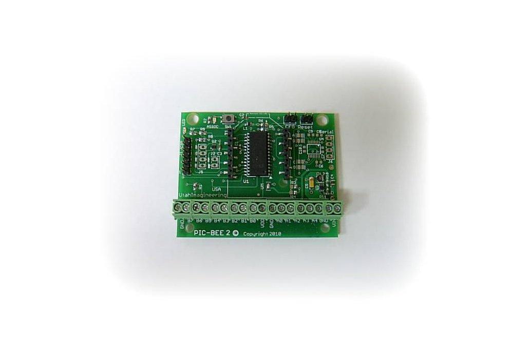 PICBEE2 - Easy Interface to the XBEE Zigbee module 5