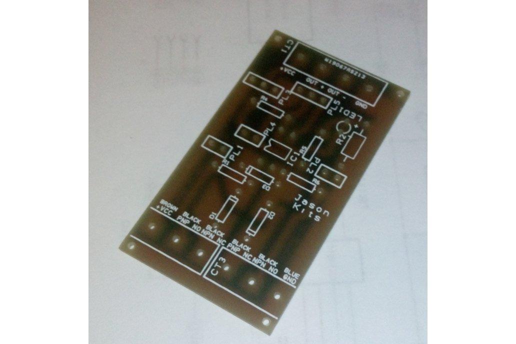 Universal NPN PNP inductive sensor interface board 1