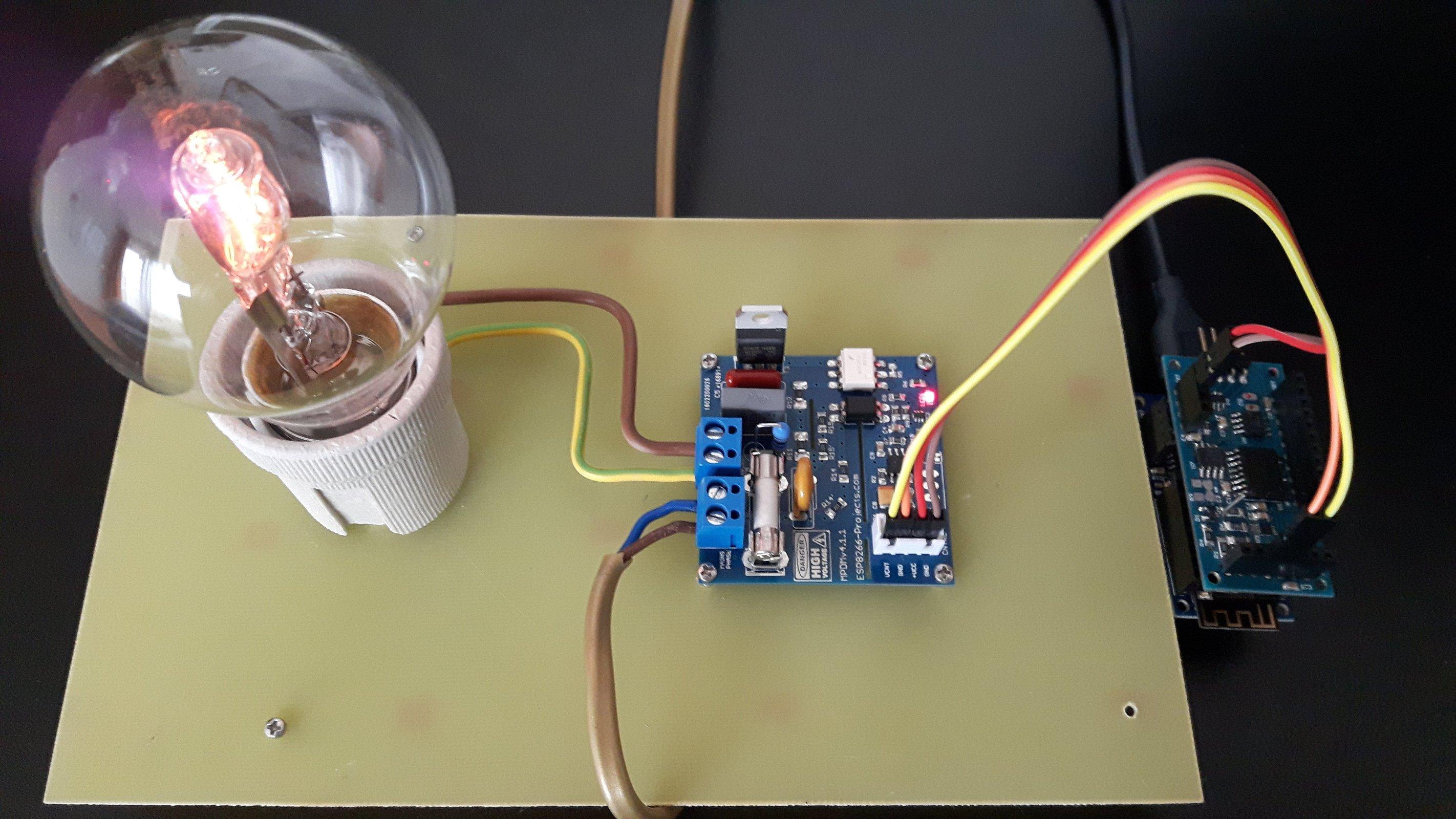Universal Ac Mains Dimmer Mpdmv41 From Nextevo On Tindie Arduino Light Circuits Circuit Scr 3