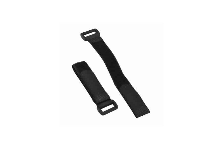 Carbon Fiber Dual-Battery Mount Extension Plates w/ Velcro Band for DJI Phantom
