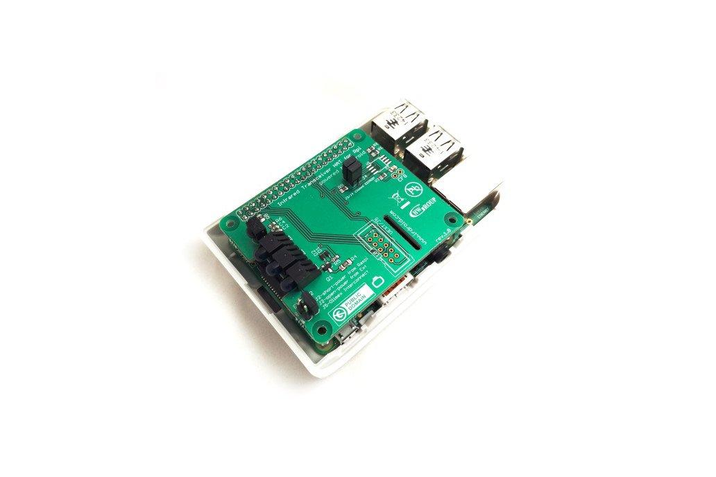 Irdroid-Rpi Infrared Transceiver for Raspberry Pi 4