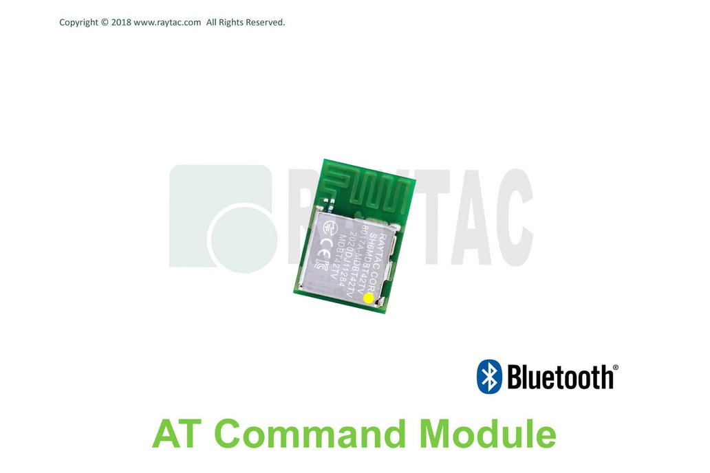 AT Command Slave BT5.2 Small Module MDBT42TV 1