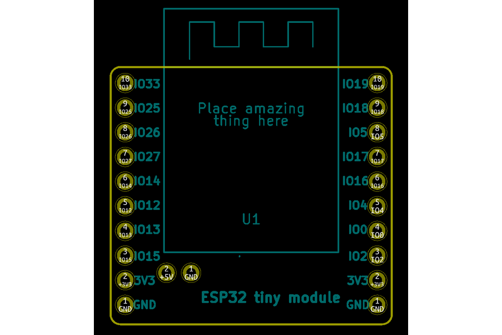 Tiny ESP32 board 4