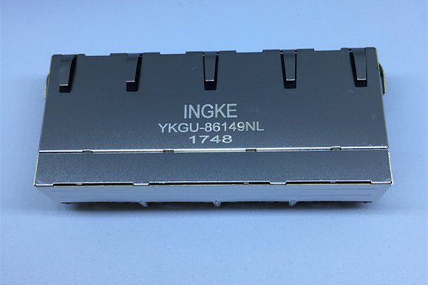 JG0-0026NL YKGU-86149NL 4 Port RJ45 Magnetic Jacks