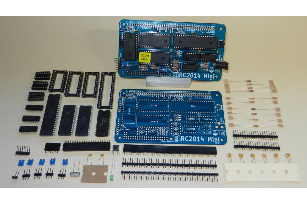 RC2014 Mini - Single Board Z80 Computer Kit