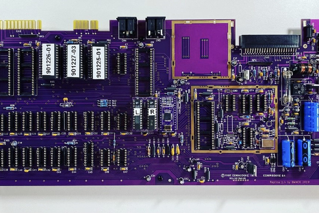 8 bit computer starter kit w/ 5 chips Commodore 64