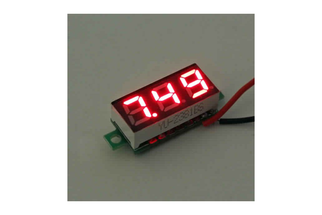 Geekcreit® 0.28 Inch 2.5V-30V Mini Digital 6