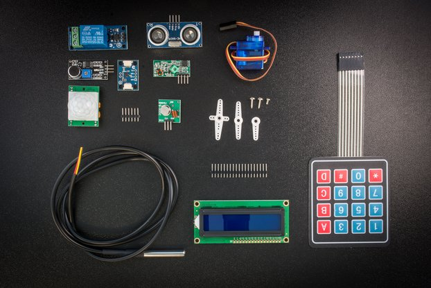 Croduino beginner kit (CBK) SENSE