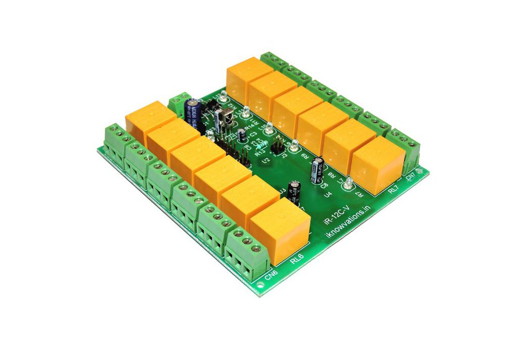 12 ch programmable IR remote relay card 1