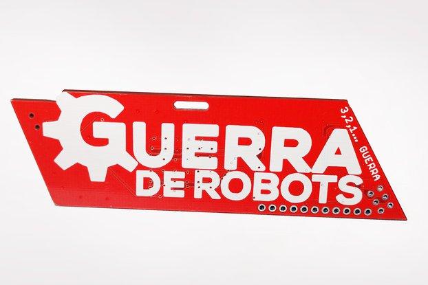 Badge Guerra de Robots