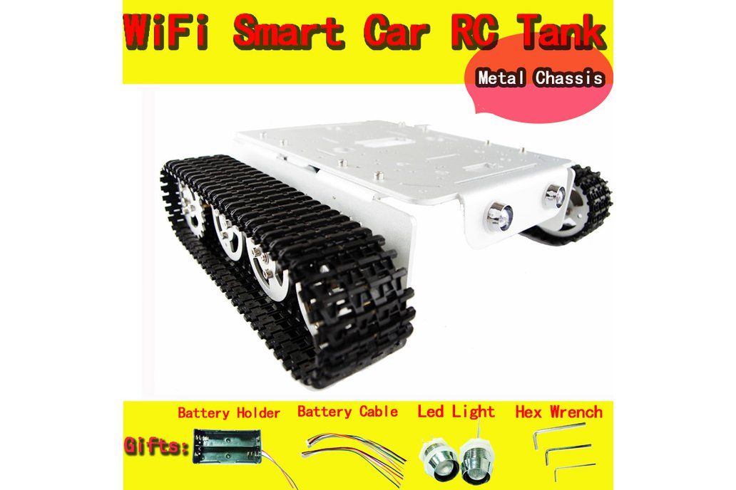 Metal Tank Chassis T200 2