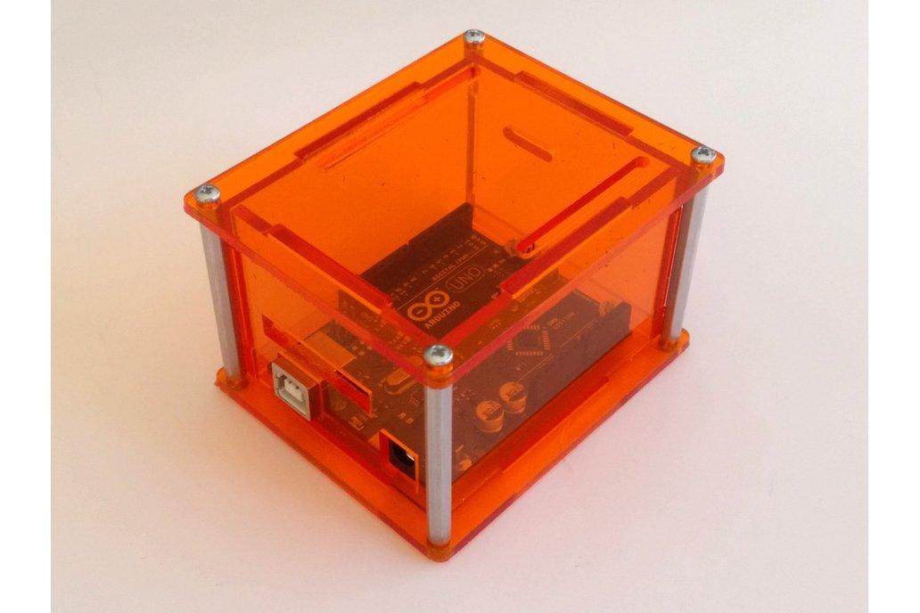"""Arduino Uno Project Enclosure """"Duo II"""" 4"""