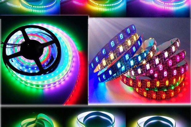 WS2812 NeoPixel Digital RGB LED Strip - 30 LEDs 1m