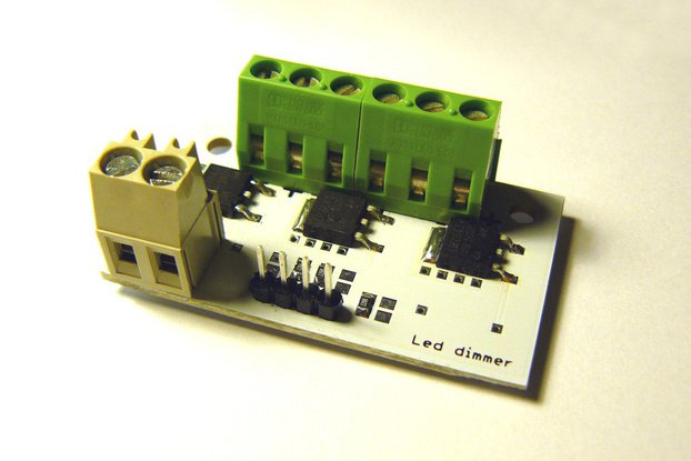 Power led dimmer for Arduino, etc
