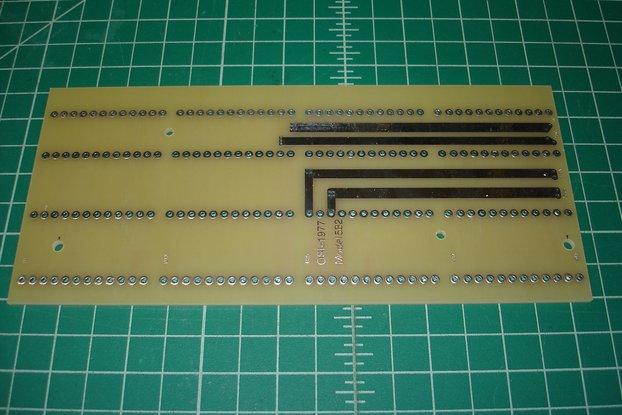 Reproduction OSI 582 4-Slot Backplane Motherboard