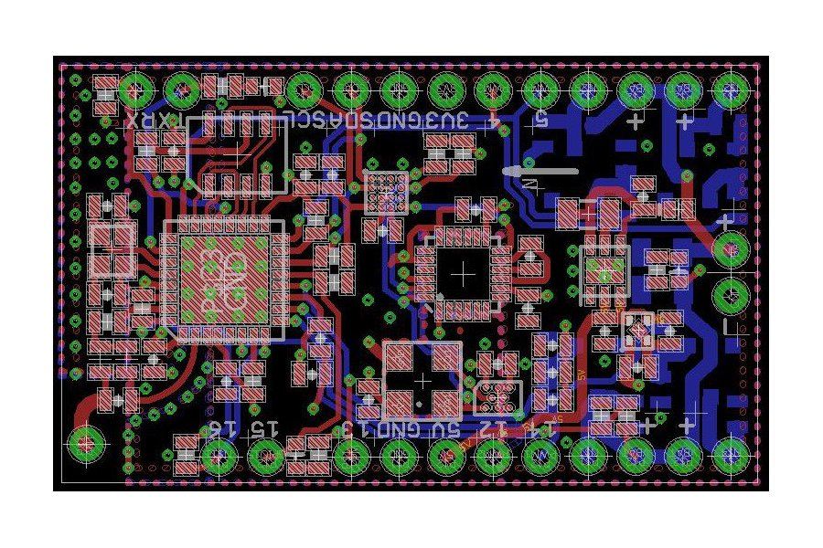 SuperFly Hackable ESP8266 Flight Controller