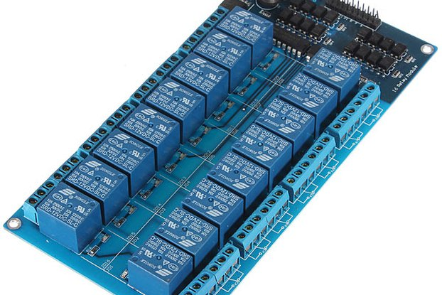 16 Channel 5V Relay Module With Optocoupler