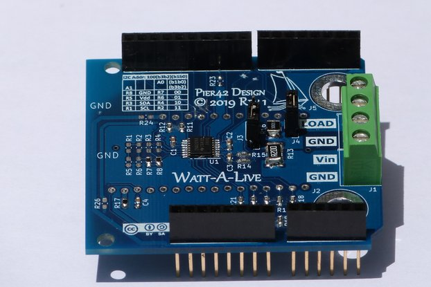 Watt-A-Live Current/Power/Voltage Monitor Sensor