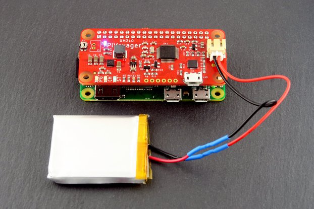 PiVoyager: the smart UPS for the Raspberry Pi