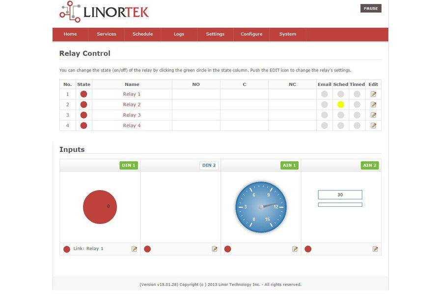 KODA 100 TCP/IP Ethernet I/O Relay Controller