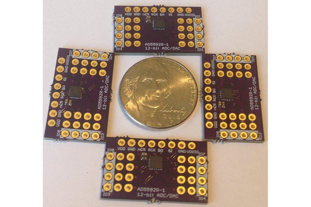 AD5592R 8-channel 12-bit ADC, DAC or GPIO Breakout 2
